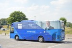 the Juncker Campaign Bus -EP Elections 2014