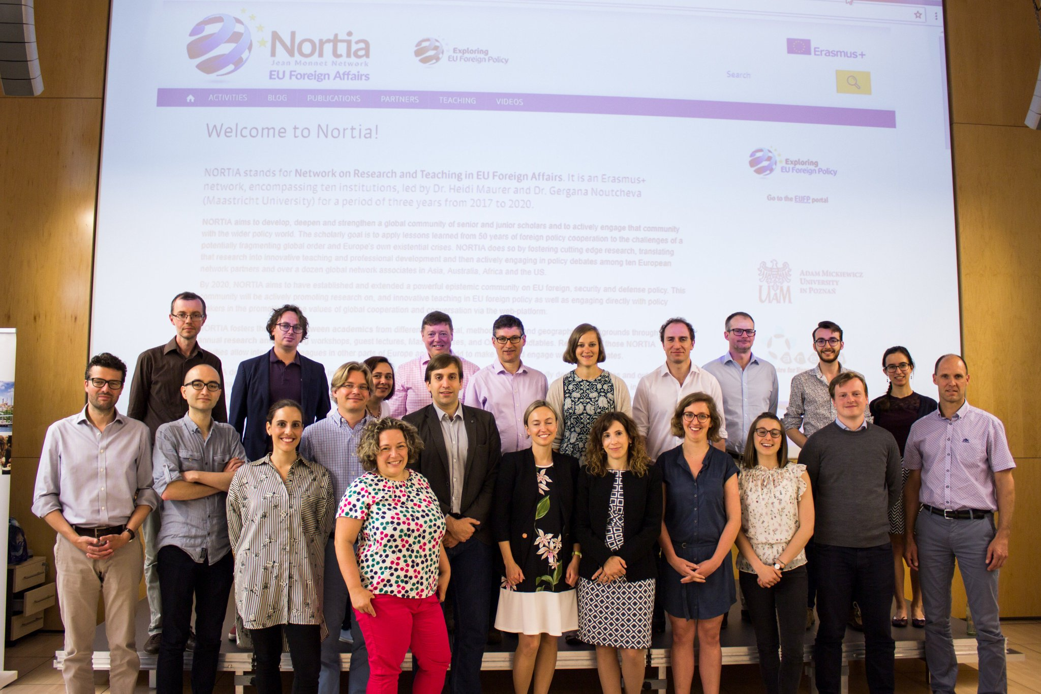 Meet the members of the Jean Monnet NORTIA Network